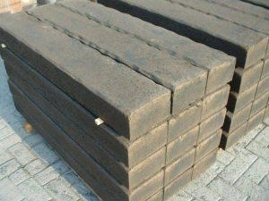 betonlielzen in de tuin