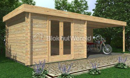 opbouwen tuinhuis