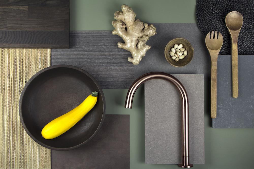 Keuken Moodboard Natuurlijke materialen