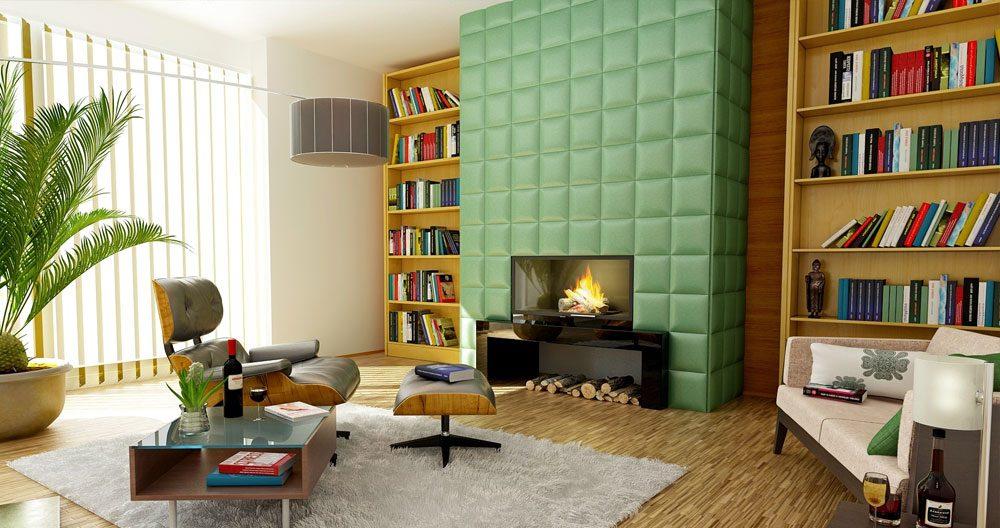Geef kleur aan je woonkamer u colorblocking trend wonenwereld
