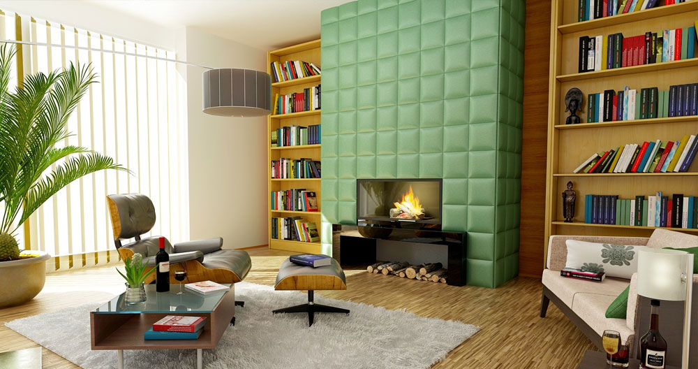 colorblocking interieur