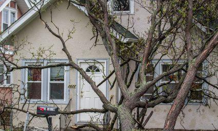 stormschade huis