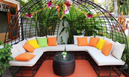 loungekussens tuin