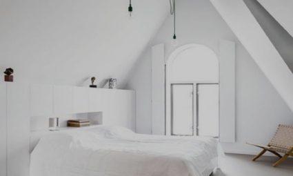 frisse moderne slaapkamer