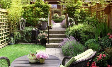 meer sfeer in tuin