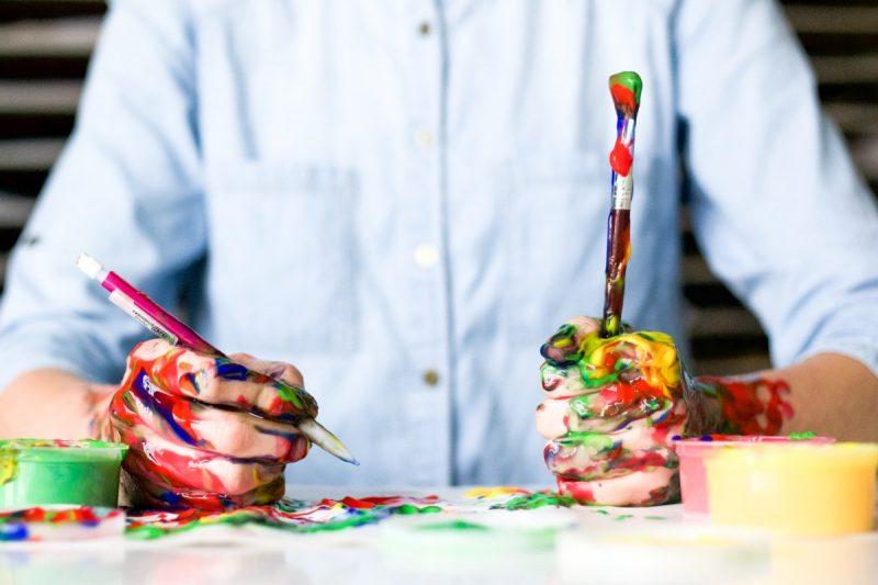 Kleuren in huis