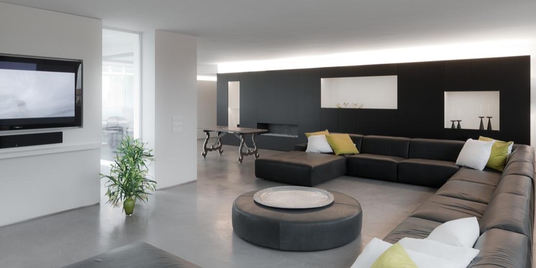 Betonlook vloer als basis in je interieur
