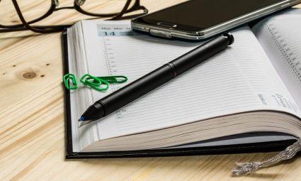 De voordelen van een papieren agenda 2020