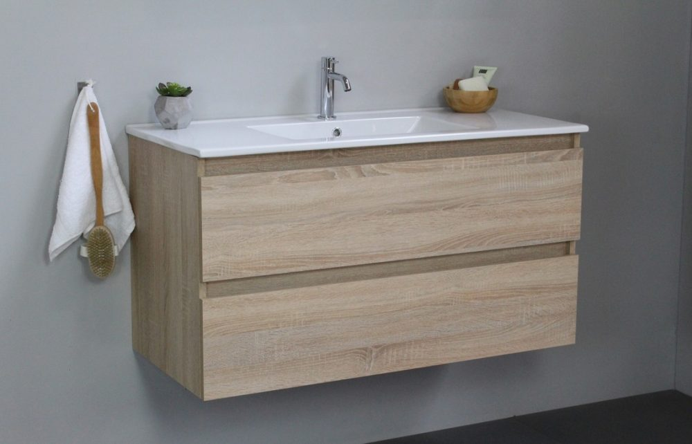 houten badkamermeubel