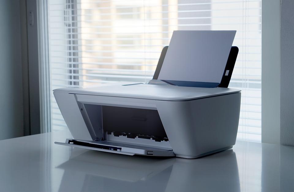Computer met printer