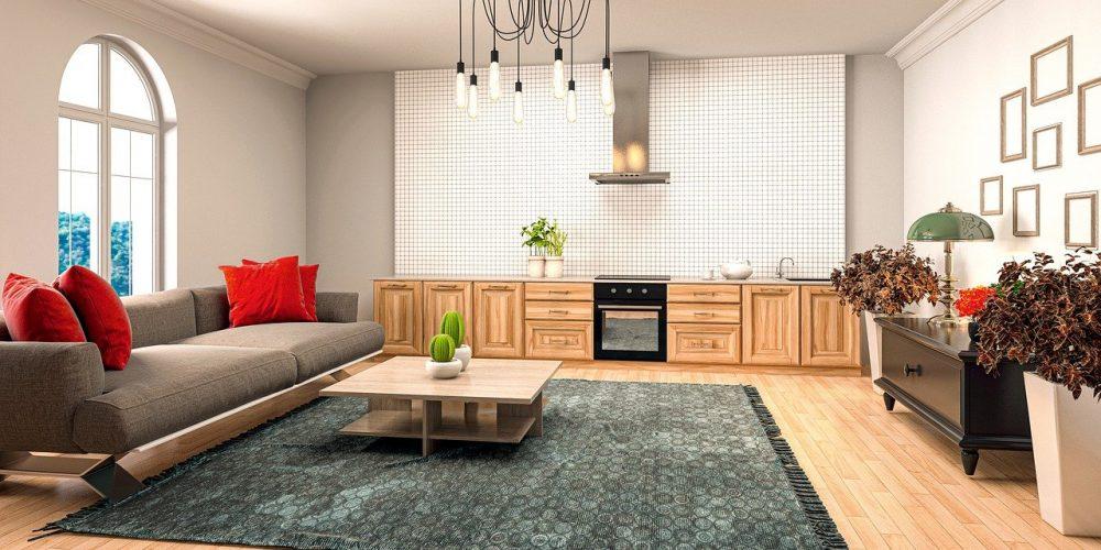 vloer matcht met huiskamer